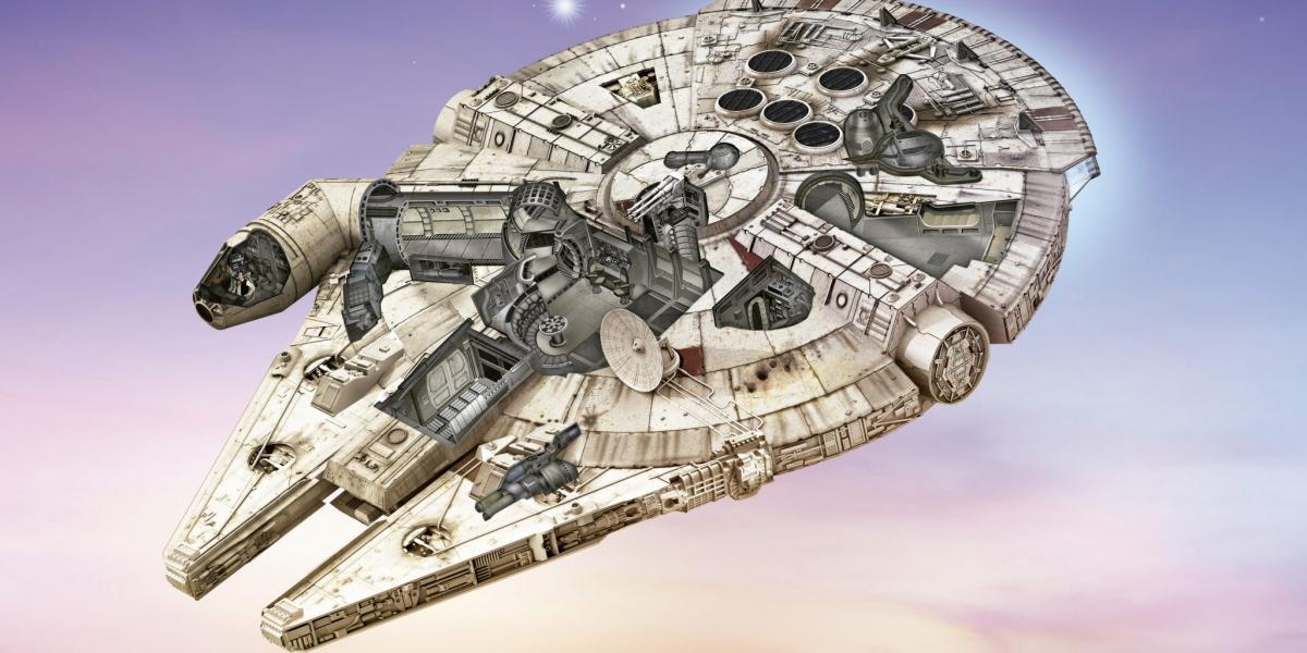 camucada star wars millenium falcon